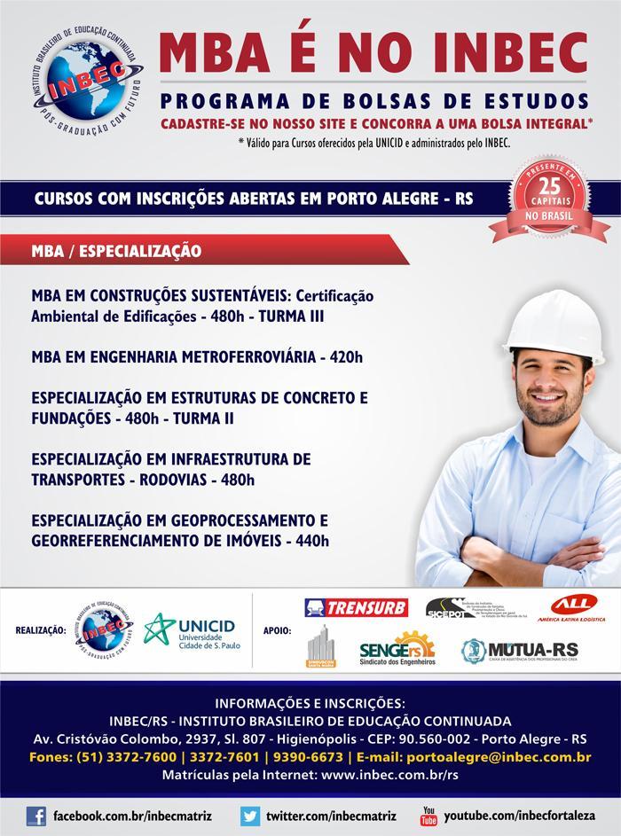 Cursos INBEC em Porto Alegre - 2