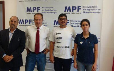 MPF E SINDIMETRÔ INGRESSARÃO COM AÇÃO CIVIL PÚBLICA CONTRA A PRIVATIZAÇÃO DA TRENSURB